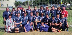 St. Mary's High School soccer team dedicated their season to Matt Letwin